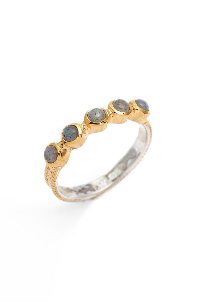 ANNA BECK Labradorite Multi Stone Stackable Ring, Main, color, 020