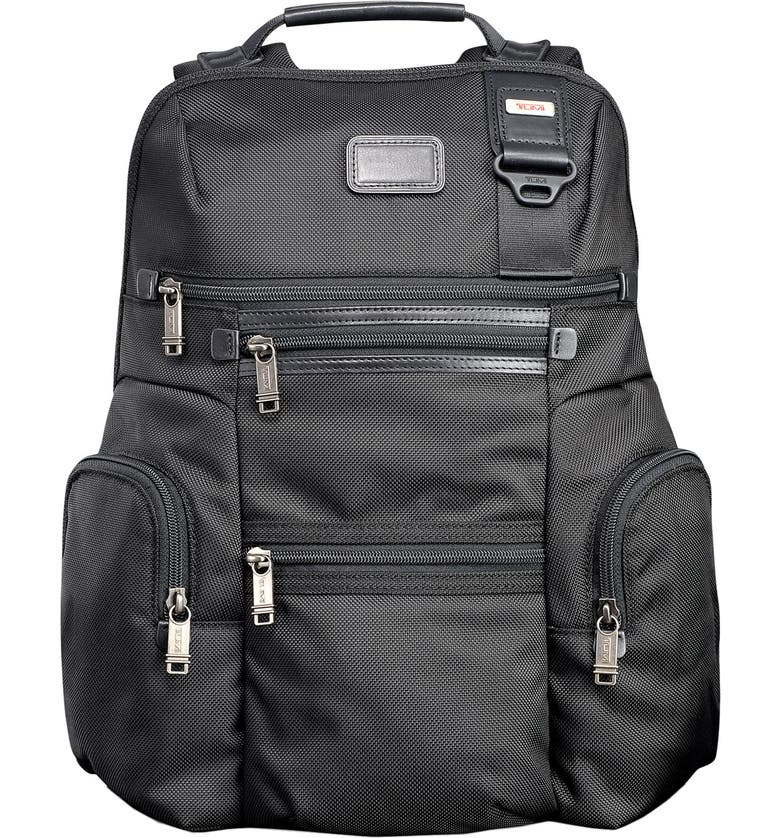 TUMI 'Alpha Bravo - Knox' Backpack, Main, color, 001