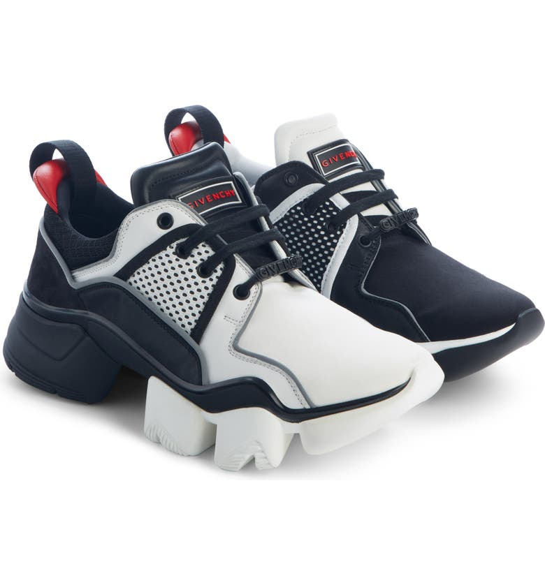 GIVENCHY Urban Knots Sneaker, Main, color, BLACK/ WHITE