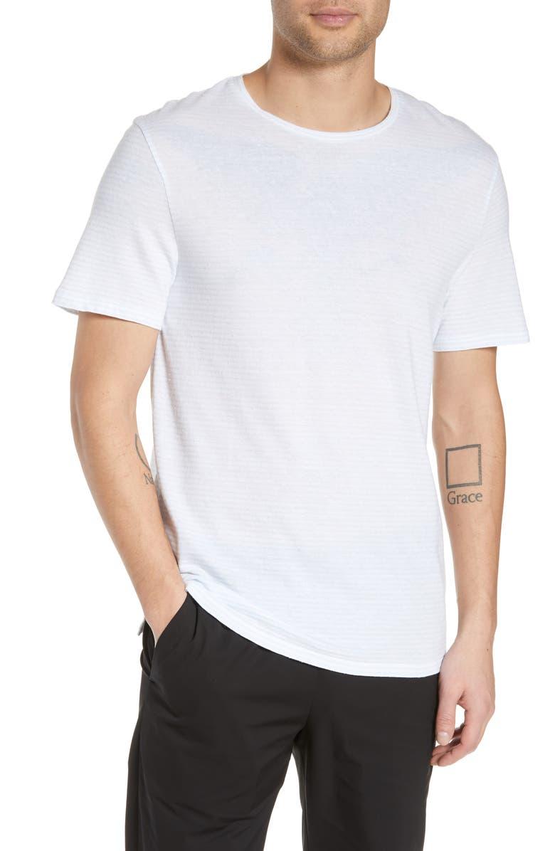 Vince Slim Fit Feeder Stripe T-Shirt | Nordstrom