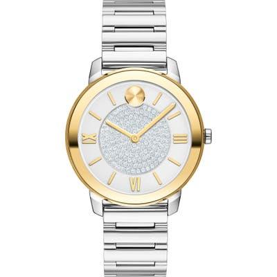Movado Bold Pave Bracelet Watch, 32Mm