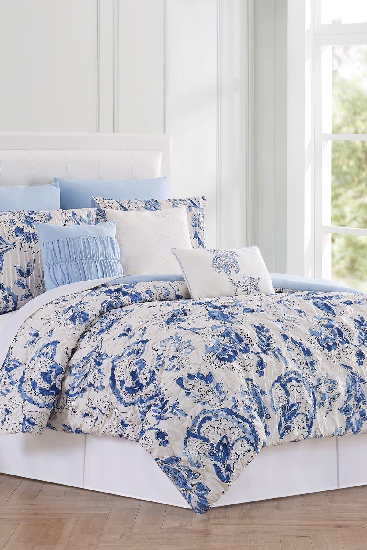 Image of Modern Threads 8-Piece Fashion Comforter Set - Ines - Queen