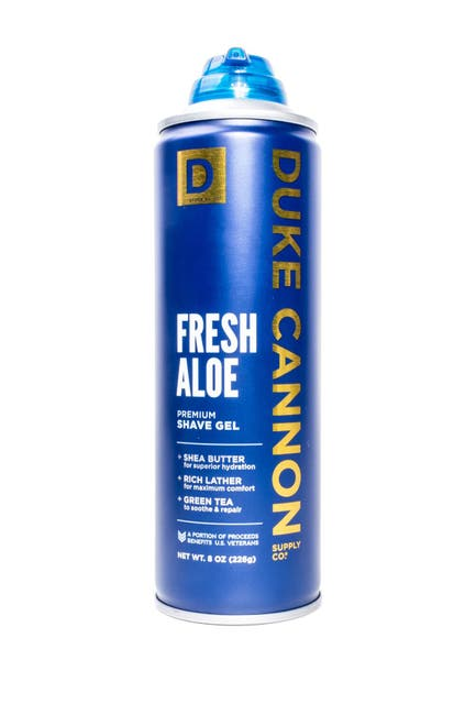 Image of DUKE CANNON Fresh Aloe Shave Gel