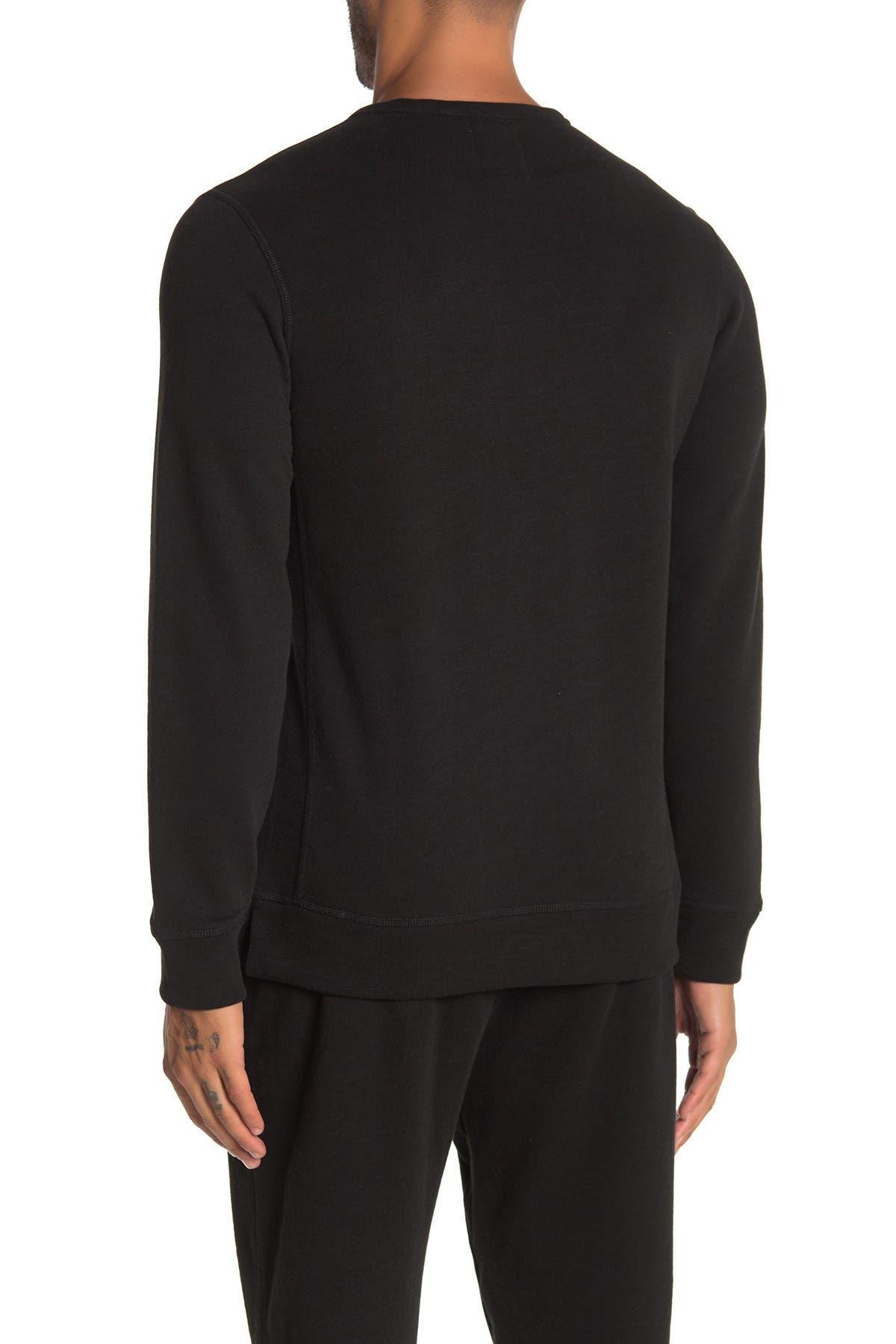 Image of JASON SCOTT Distressed Crew Neck Sweatshirt