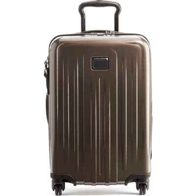 Tumi V4 Collection 22-Inch International Expandable Spinner Carry-On - Brown