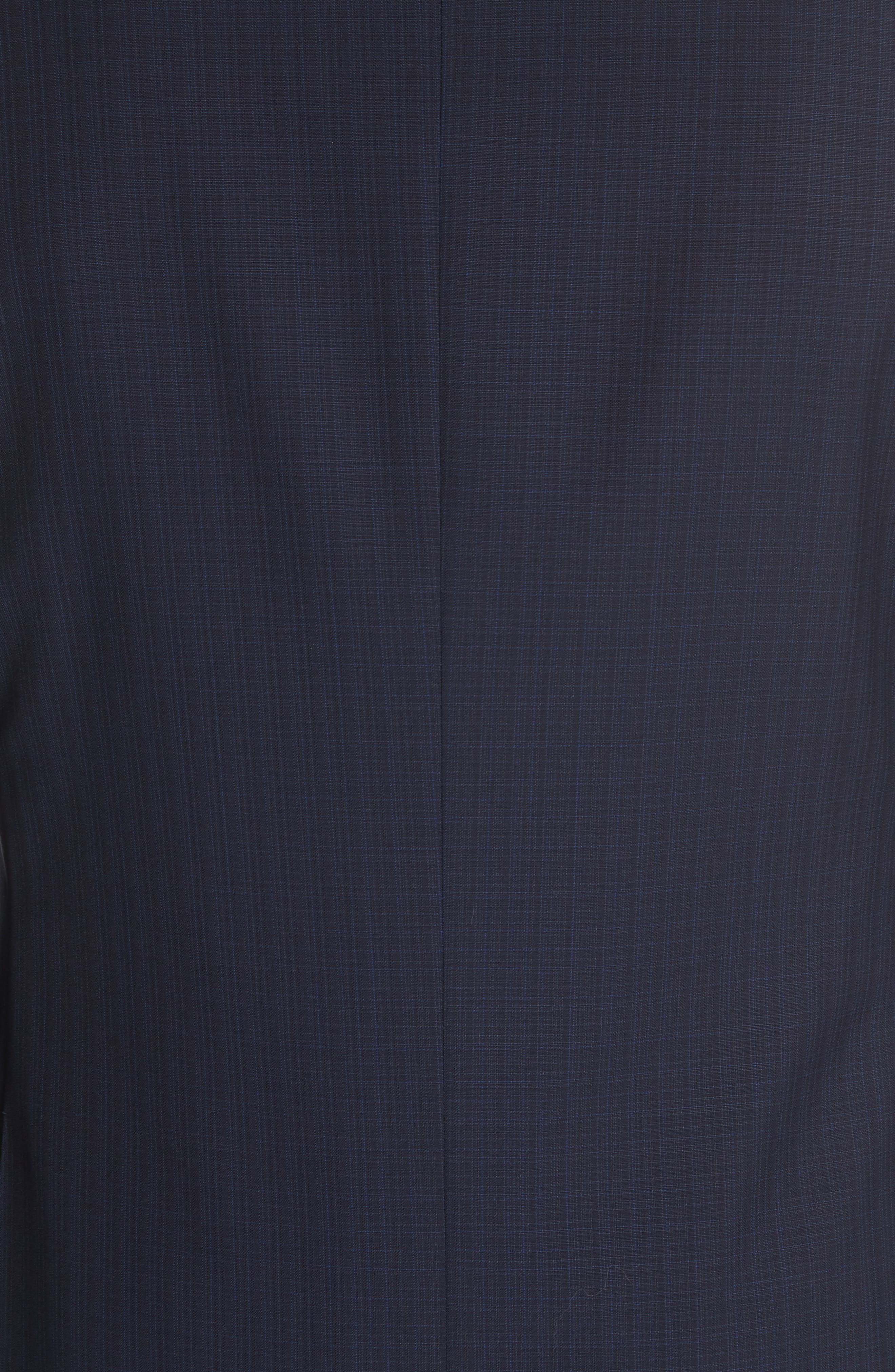 ,                             Siena Classic Fit Check Wool Suit,                             Alternate thumbnail 7, color,                             NAVY