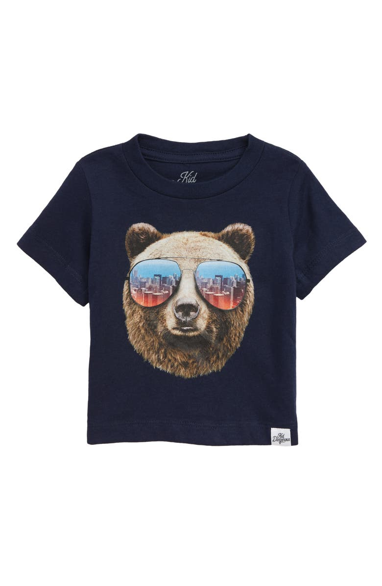 KID DANGEROUS Grizzly Shades Graphic T-Shirt, Main, color, 410