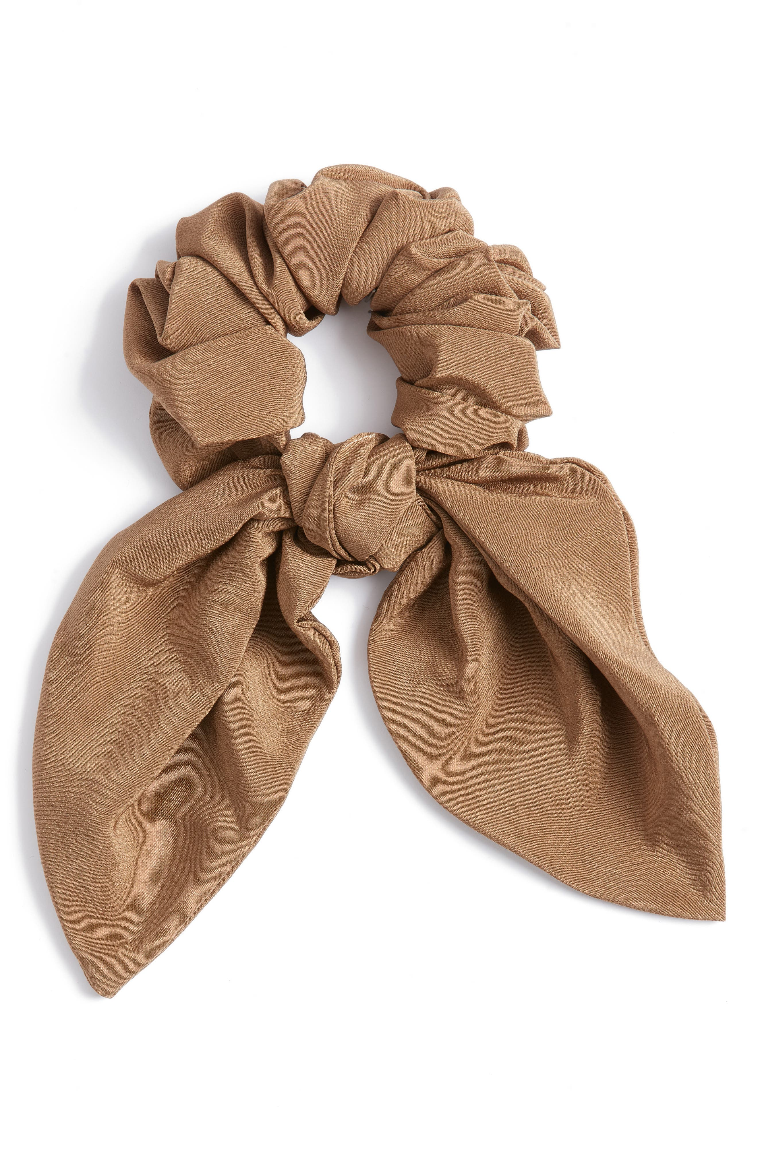 Large Petal Silk Bow Scunchie