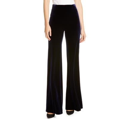 Galvan Winter Sun Wide Leg Pants, US / 40 FR - Blue