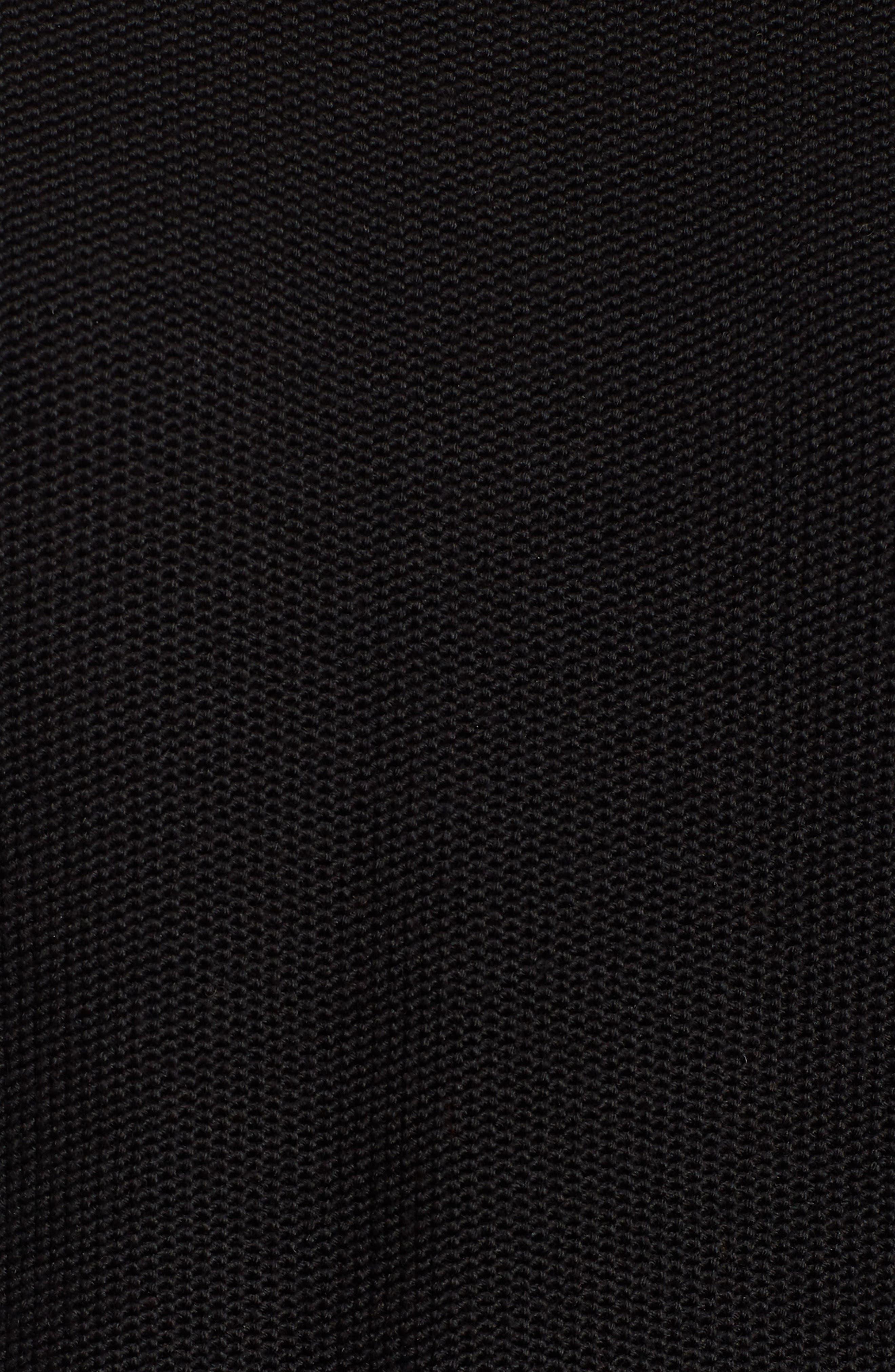 ,                             Aleza Merino Wool Sweater,                             Alternate thumbnail 5, color,                             BLACK