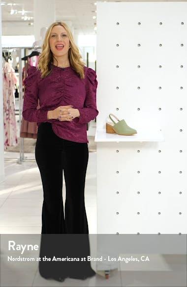 Erica Slingback Mule, sales video thumbnail