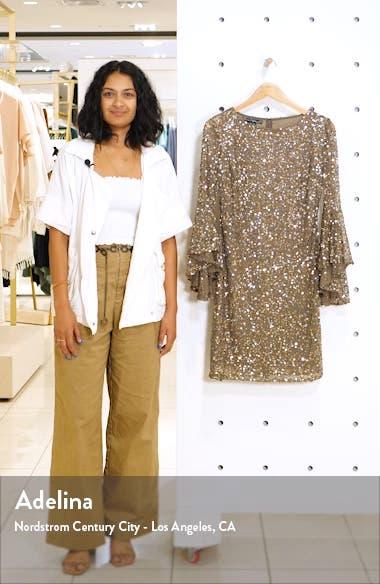 Embellished Bell Sleeve Minidress, sales video thumbnail
