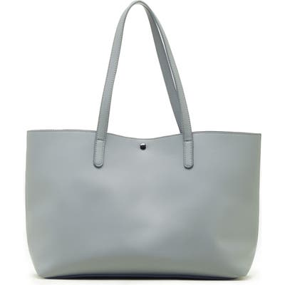 Sole Society Zeda Faux Leather Tote - Blue