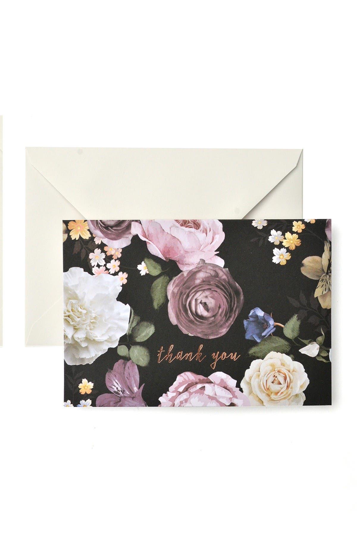 Image of GARTNER STUDIOS Vintage Floral Thank You Cards - 60-Count