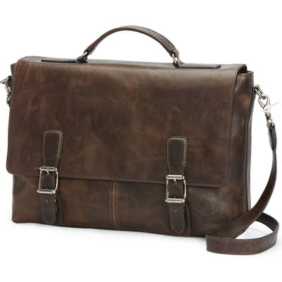 Frye Logan Leather Briefcase -