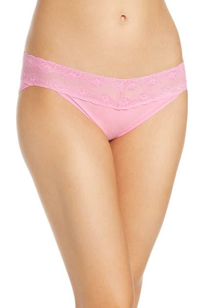 Natori Bliss Perfection Bikini In Pink Carnation