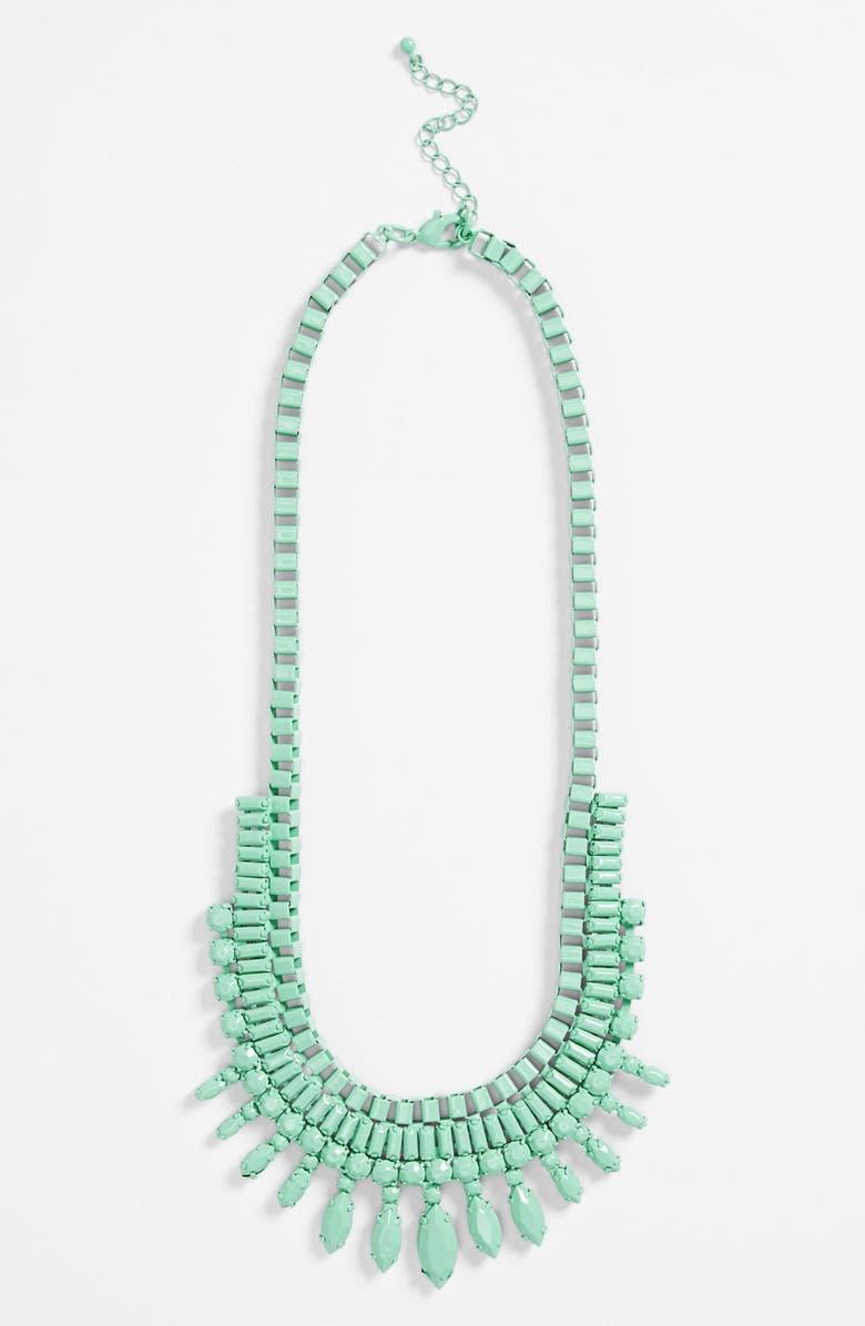 TOPSHOP Statement Necklace, Main, color, 330