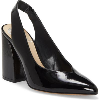 Vince Camuto Almista Pointy Toe Slingback Pump, Black