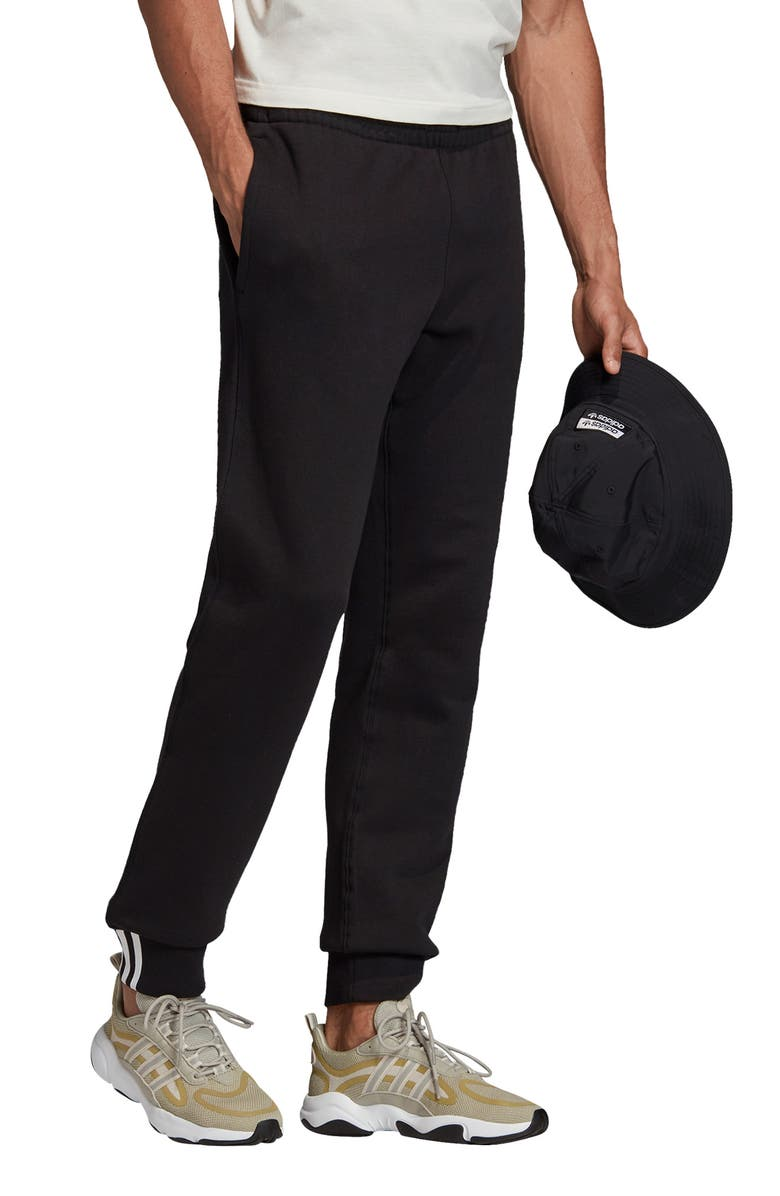 ADIDAS ORIGINALS Sweatpants, Main, color, BLACK