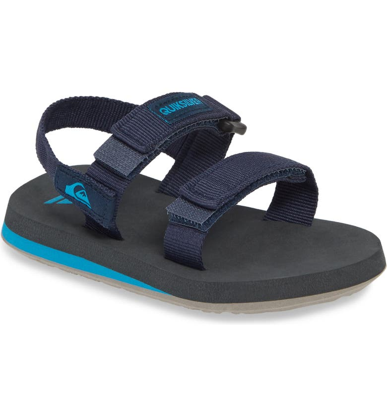 QUIKSILVER Quicksilver Monkey Caged Sandal, Main, color, BLUE/ GREY/ BLUE