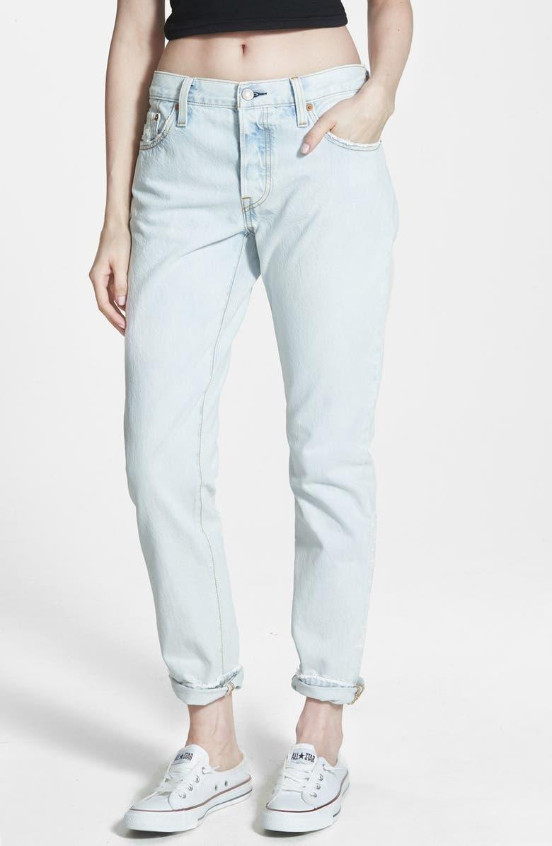 f63607cb Levi's® '501® CT' Boyfriend Jeans (Rolling Fog) | Nordstrom