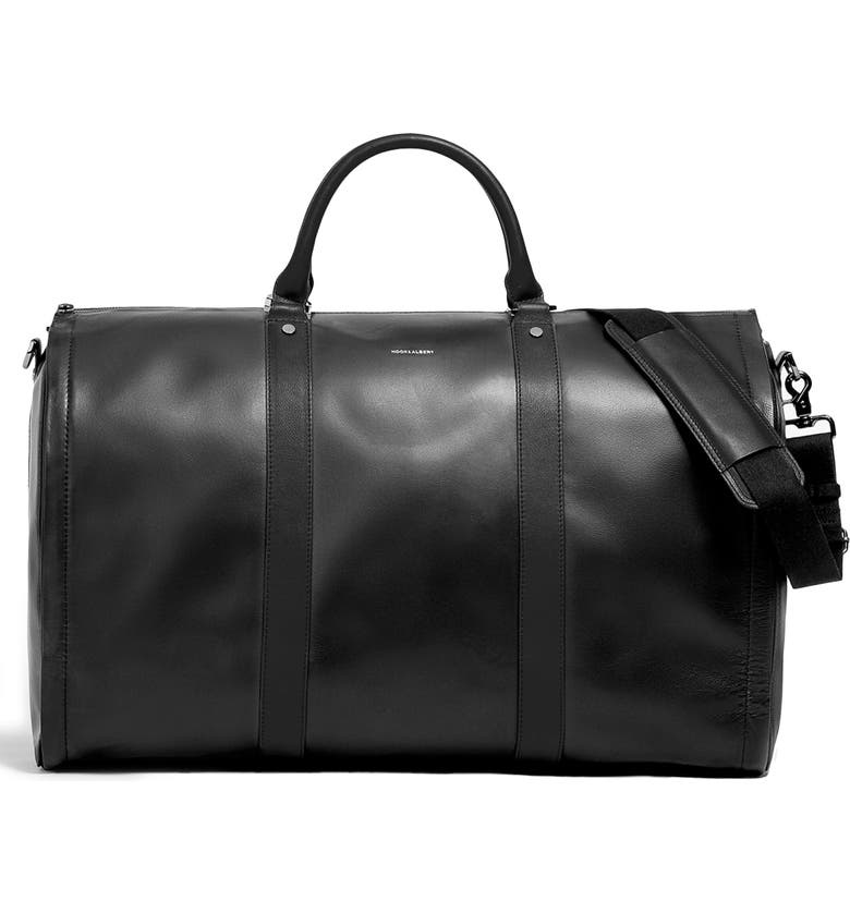 HOOK + ALBERT Garment Weekend Bag, Main, color, 001