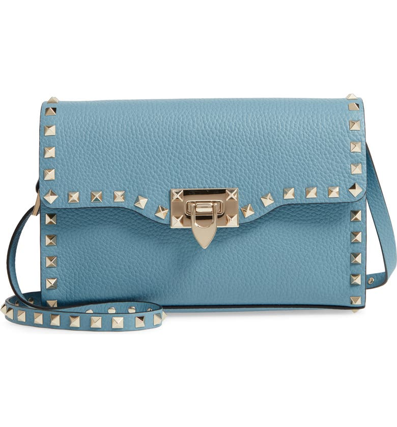 b426c880c1c Medium Rockstud Leather Crossbody Bag