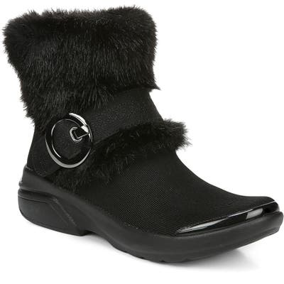 Bzees Oolala Faux Fur Bootie, Black