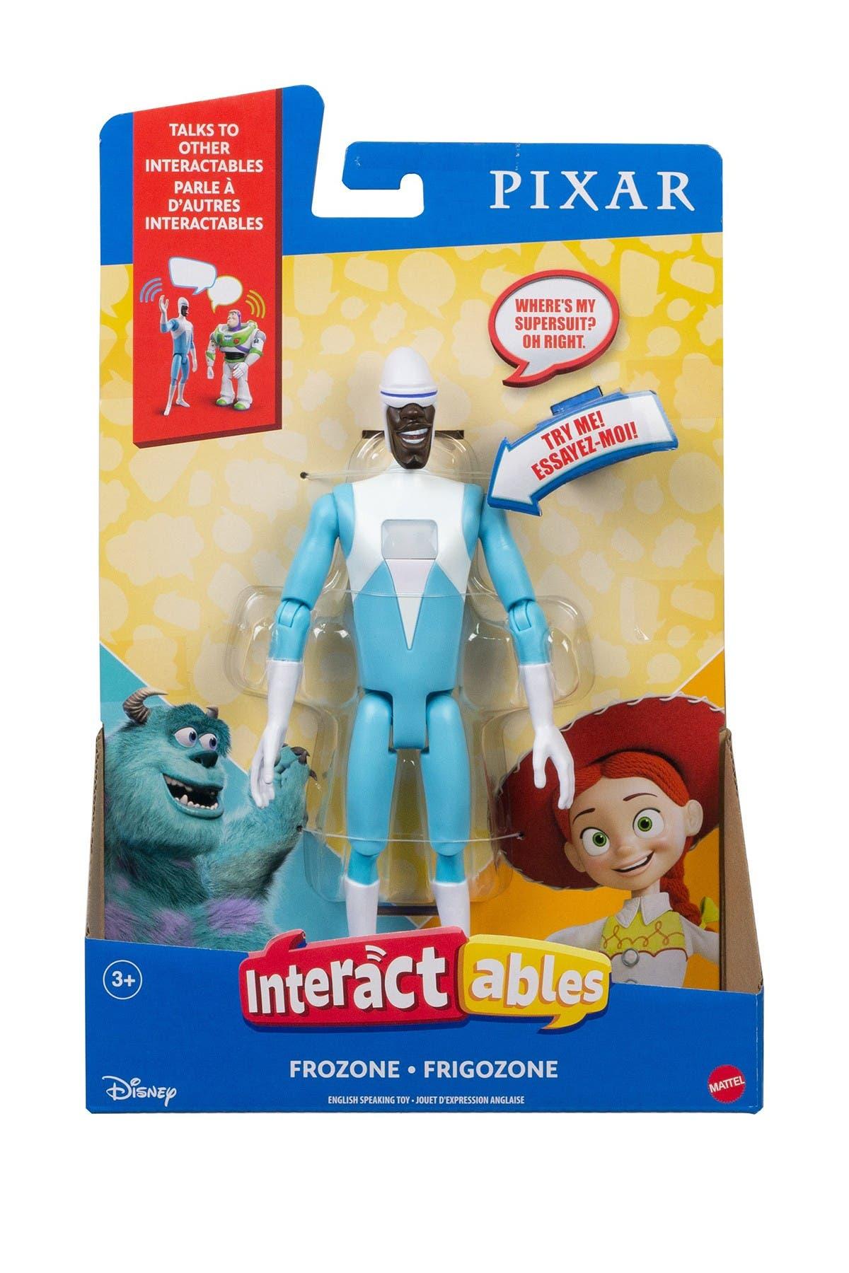 Image of Mattel Pixar Interactables Frozone Figure