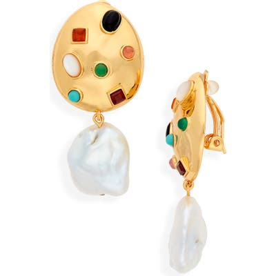 Lizzie Fortunato La Bomba Clip-On Earrings