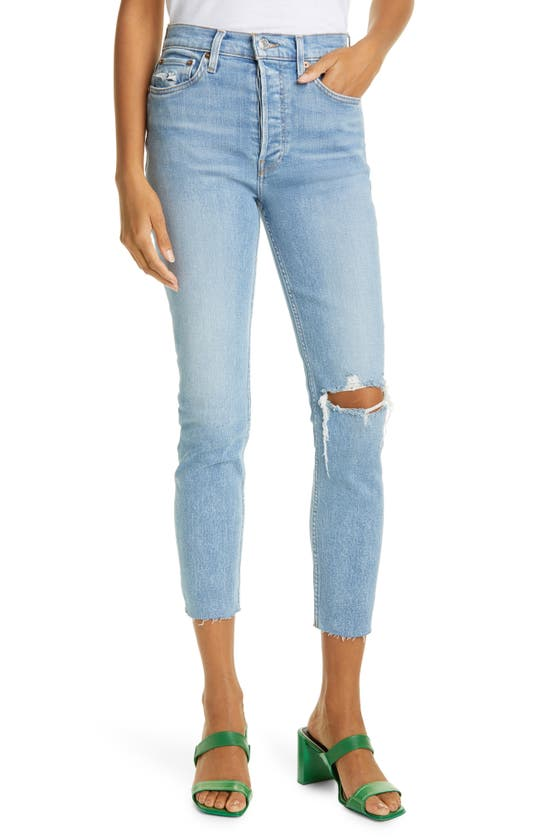 Re/done ORIGINALS HIGH WAIST ANKLE JEANS
