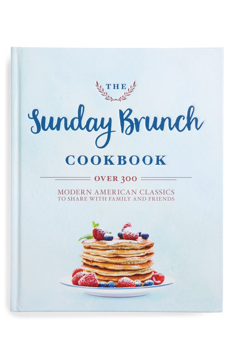SIMON AND SCHUSTER 'The Sunday Brunch' Cookbook, Main, color, MULTI