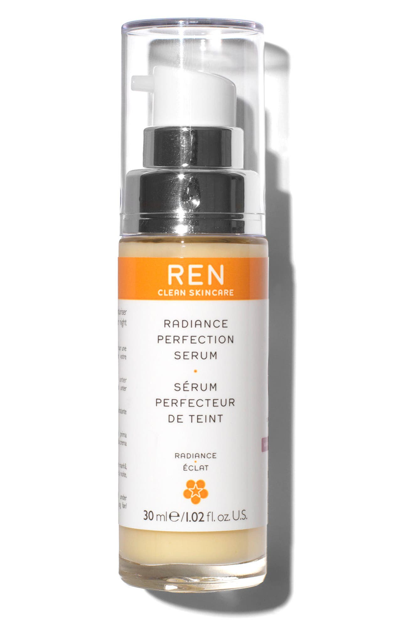 ,                             SPACE.NK.apothecary REN Radiance Perfection Serum,                             Main thumbnail 1, color,                             NO COLOR