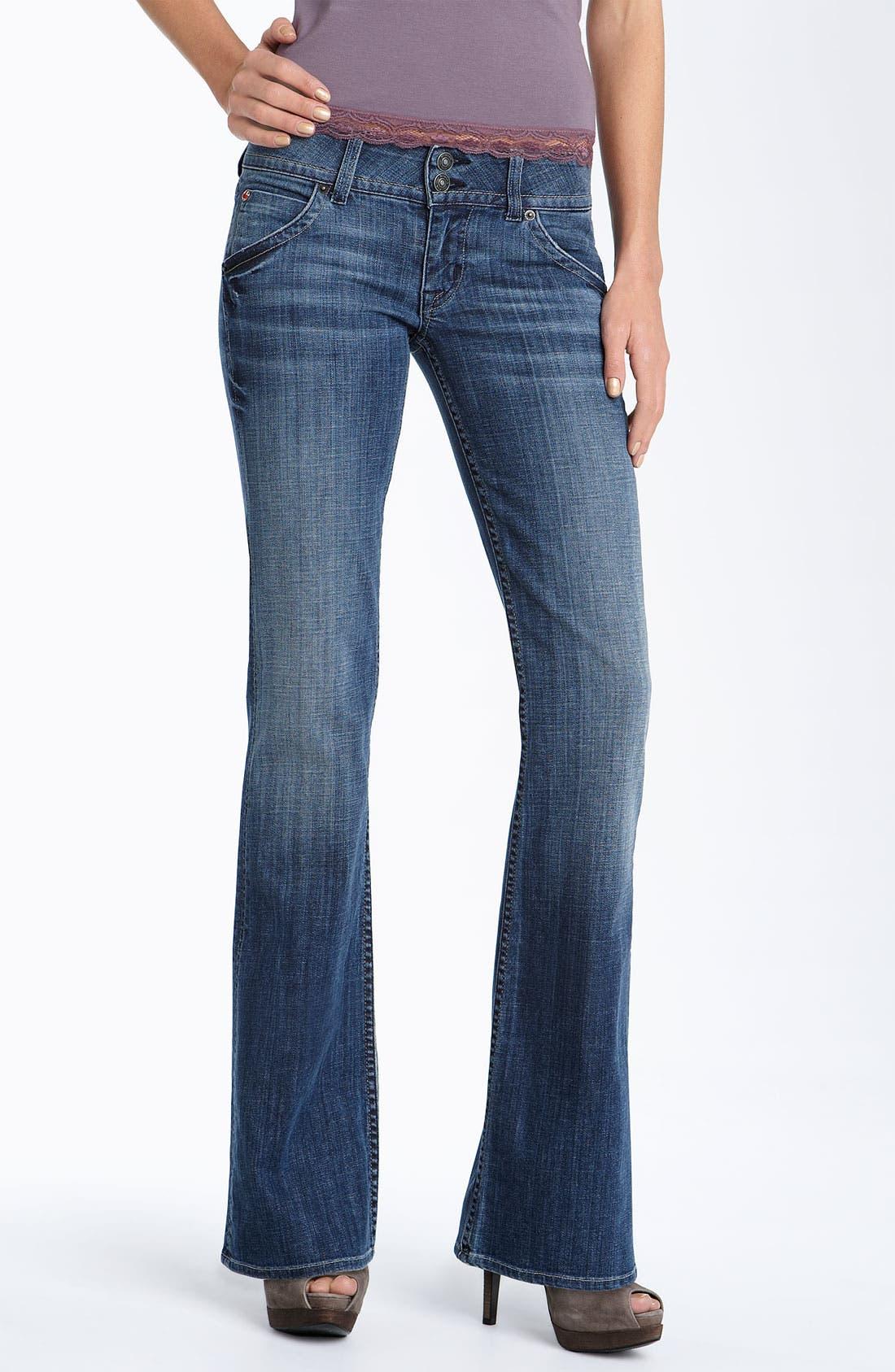 ,                             Signature Flap Pocket Bootcut Jeans,                             Main thumbnail 86, color,                             492