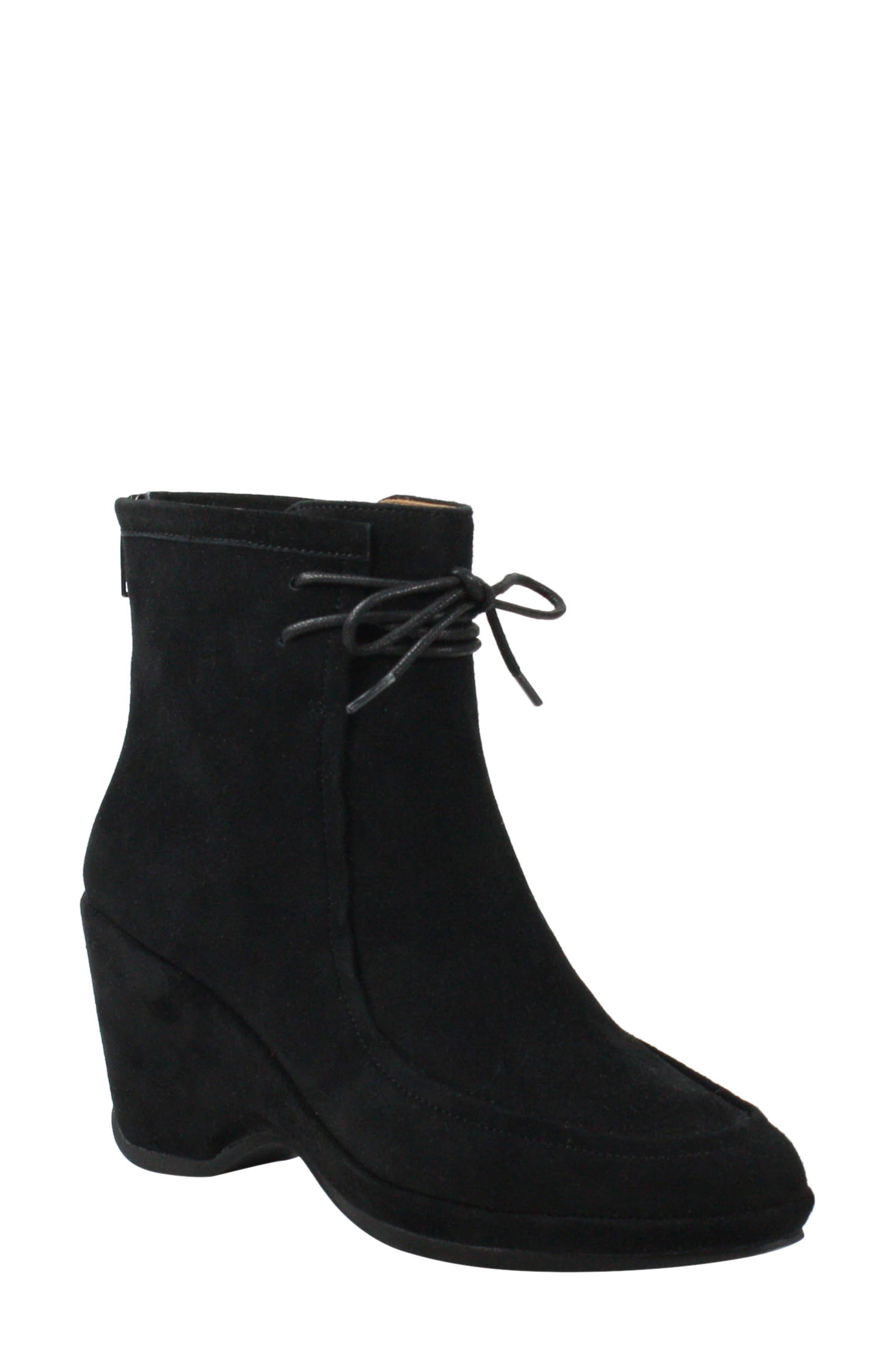 1950s Style Shoes | Heels, Flats, Saddle Shoes Womens LAmour Des Pieds Olesia Boot $129.89 AT vintagedancer.com
