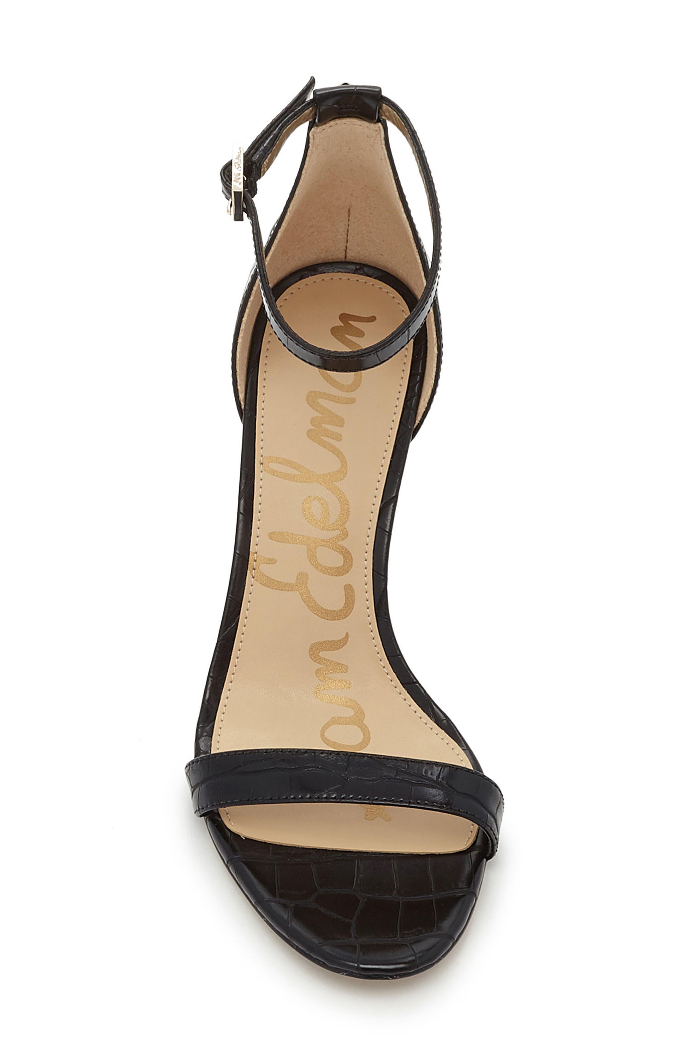 ,                             'Patti' Ankle Strap Sandal,                             Alternate thumbnail 17, color,                             007