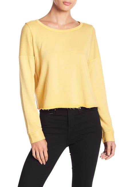 Image of Melrose and Market Cropped Pullover Sweater