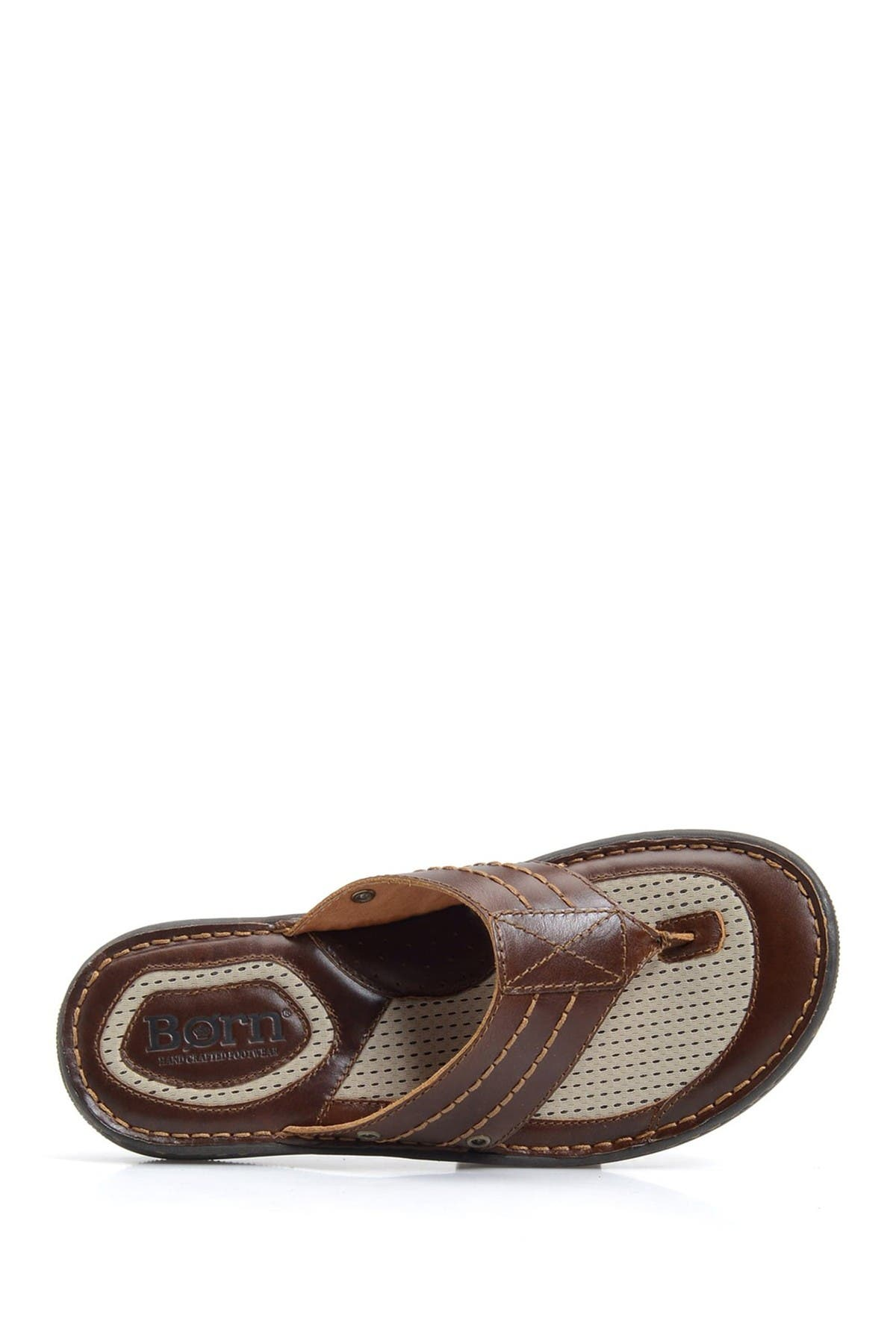 Born   Jonah Leather Flip-Flop