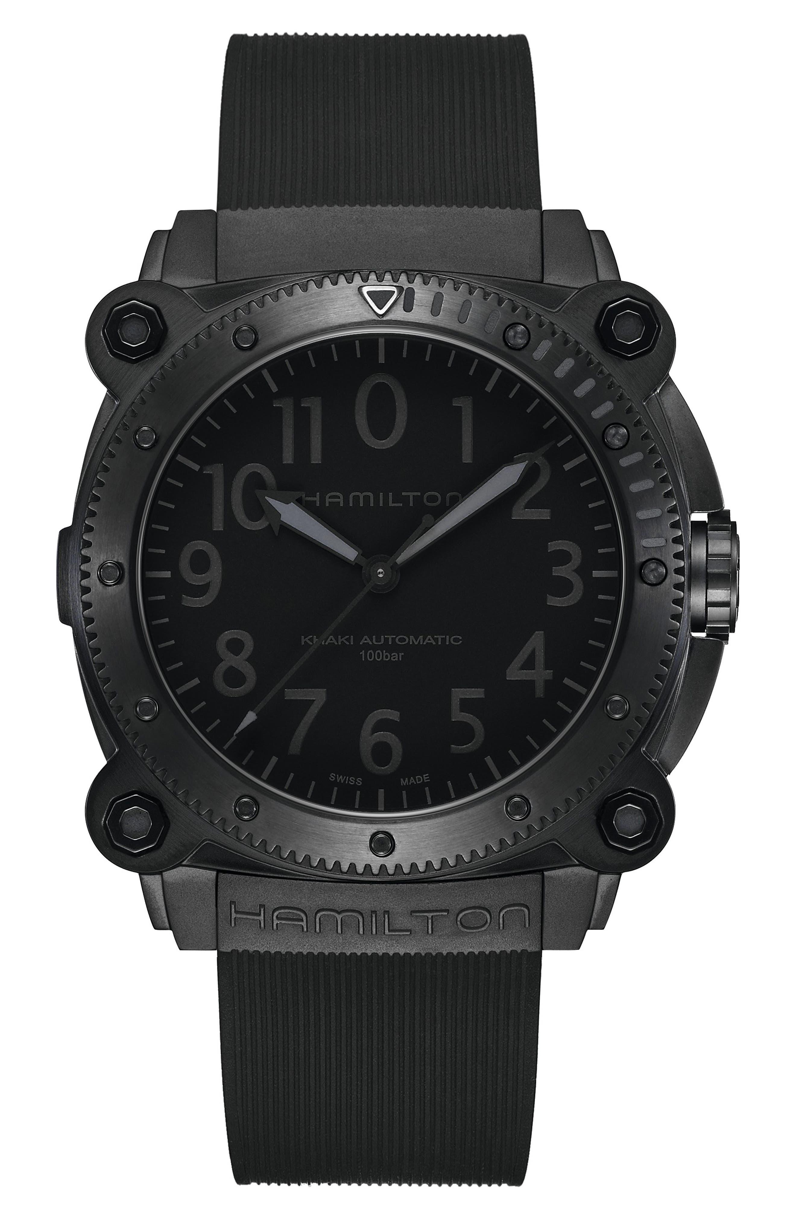 Khaki Navy Belowzero Titanium Watch