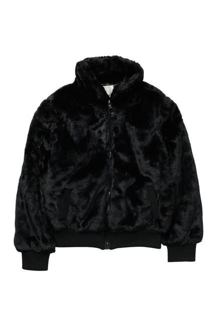 Image of Urban Republic Faux Fur Bomber Jacket