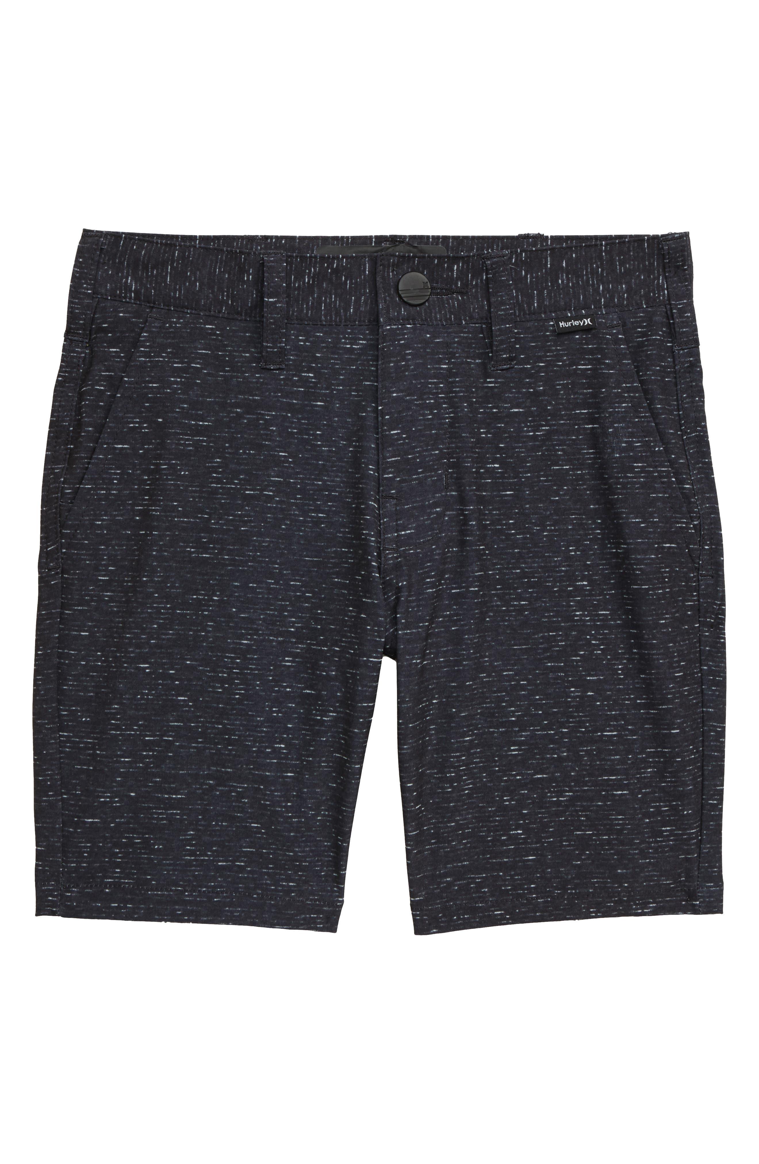 Boys Hurley Stretch Walk Shorts Size 5  Grey