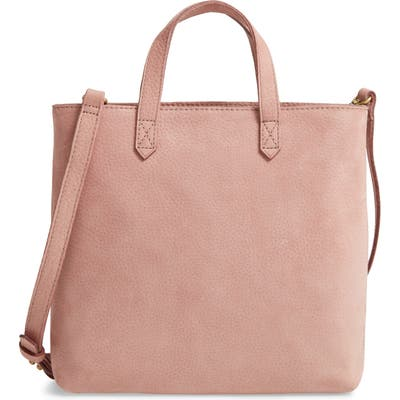 Madewell The Zip Top Transport Leather Crossbody Bag -