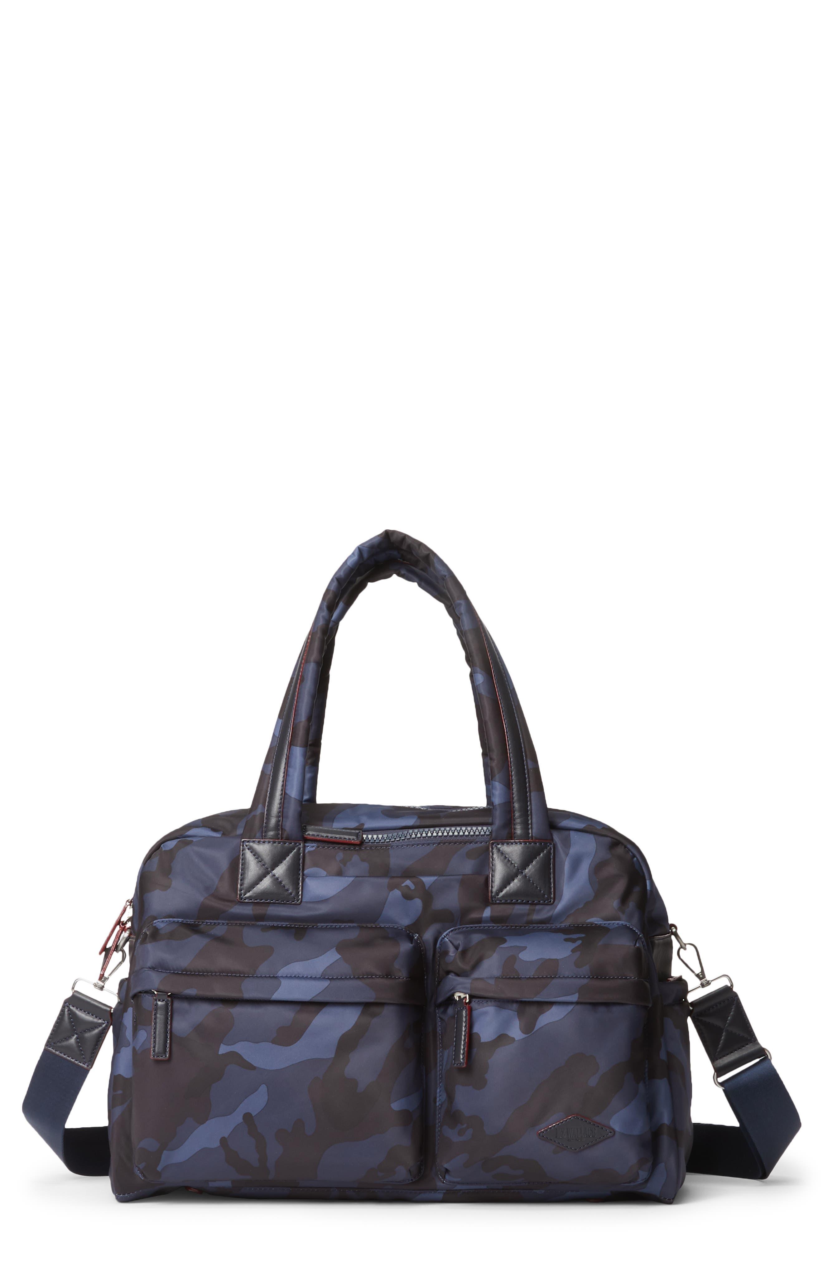 Mz Wallace Bleecker Nylon Duffle Bag - Blue