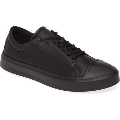 Ecco Flexure Cap Toe Sneaker - Black