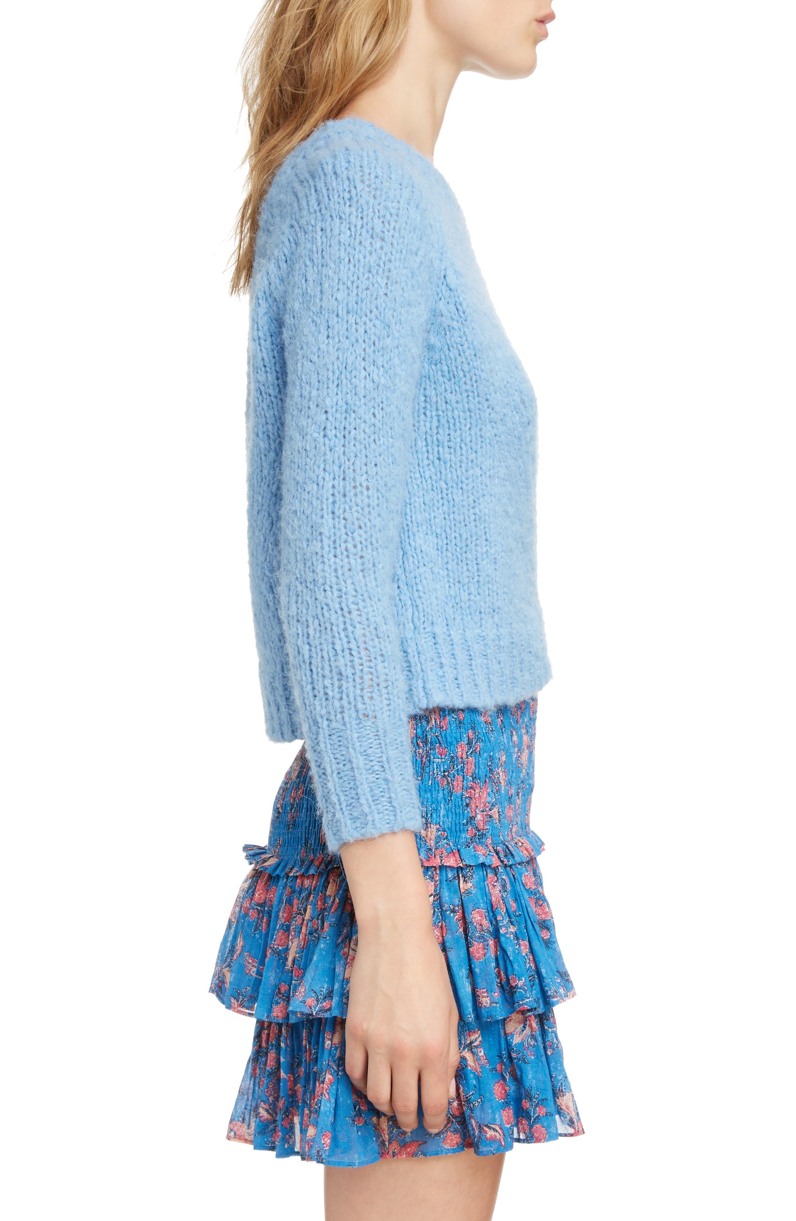 ,                             Shields Sweater,                             Alternate thumbnail 3, color,                             LIGHT BLUE