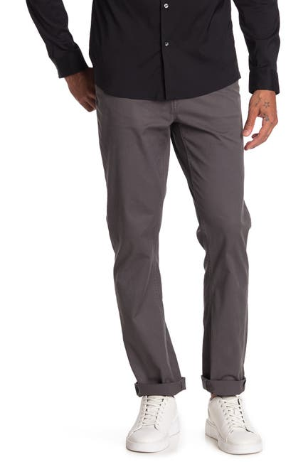 Image of Michael Kors Tailored Fit Twill Pants
