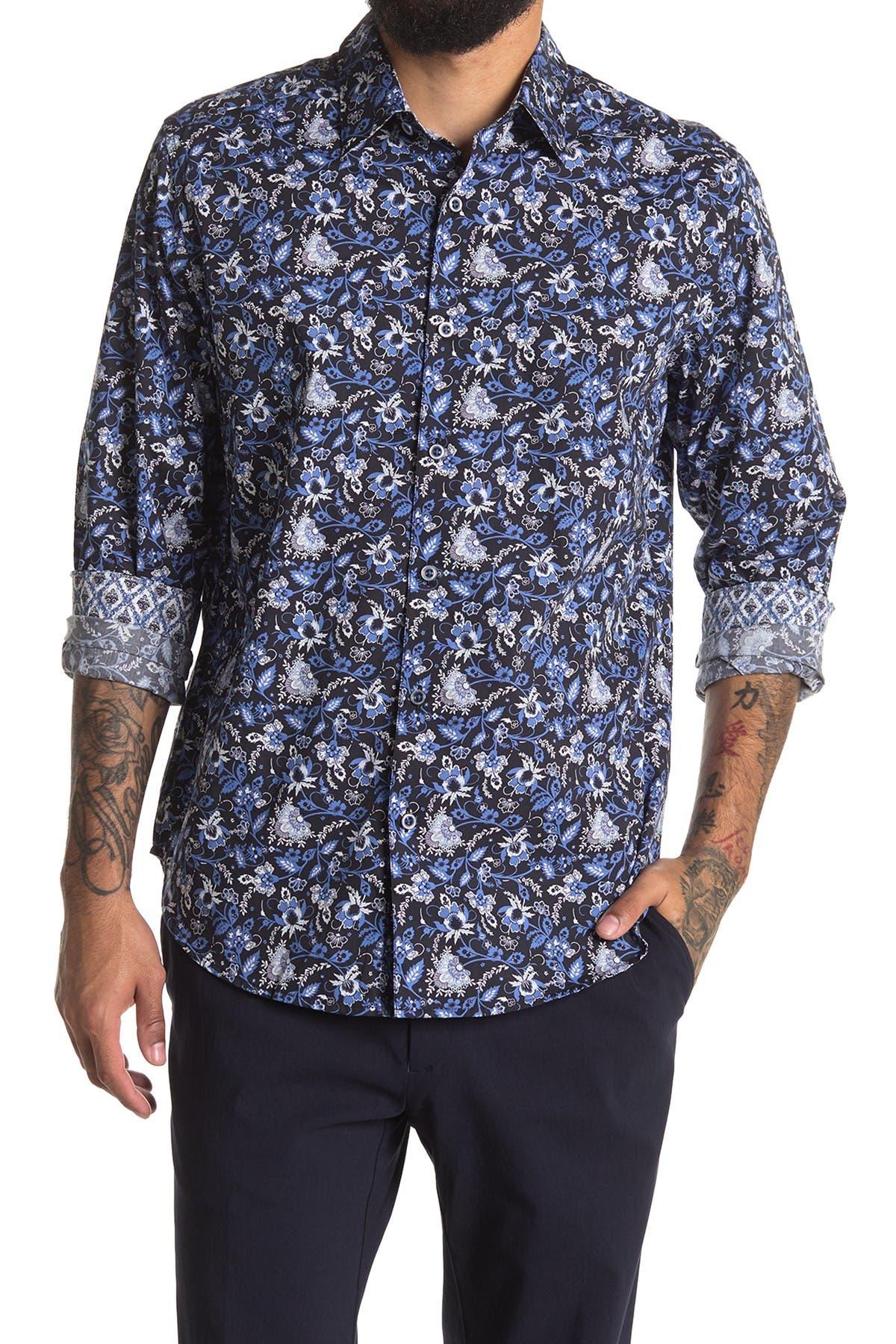 Image of Robert Graham Clovis Long Sleeve Woven Shirt