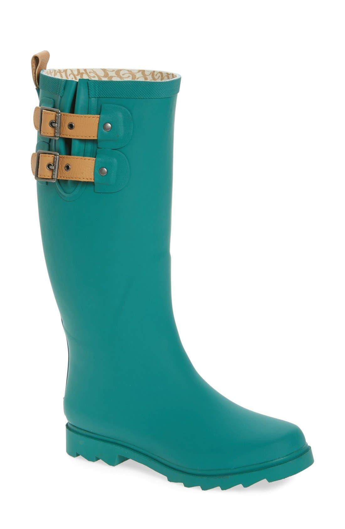,                             'Top Solid' Rain Boot,                             Main thumbnail 31, color,                             309