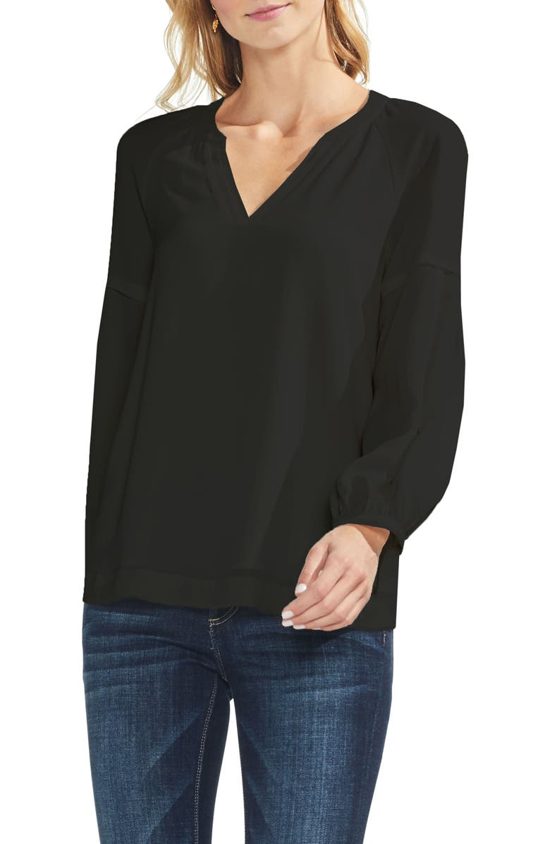 VINCE CAMUTO Raglan Sleeve Blouse, Main, color, 006