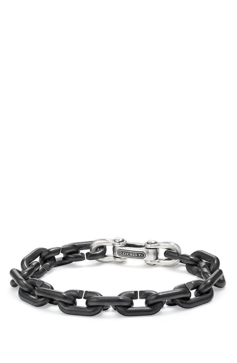 DAVID YURMAN Bold Chain Links Bracelet, Main, color, TITANIUM